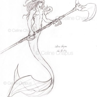 Merprince by Celine Chapus