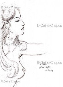 A Queen by Celine Chapus